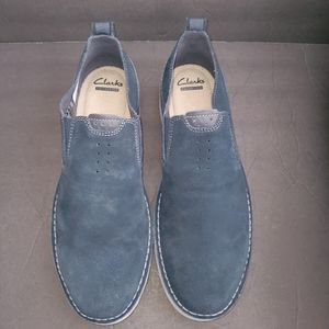Clark's Capler slip on loafers sz 12